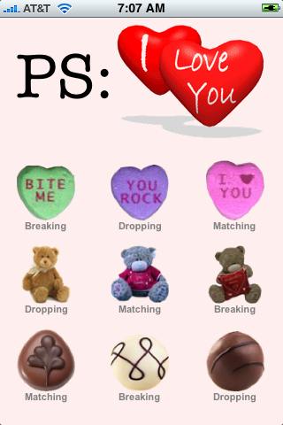 Screenshot PS: I Love You (Nine Valentines Day Games)