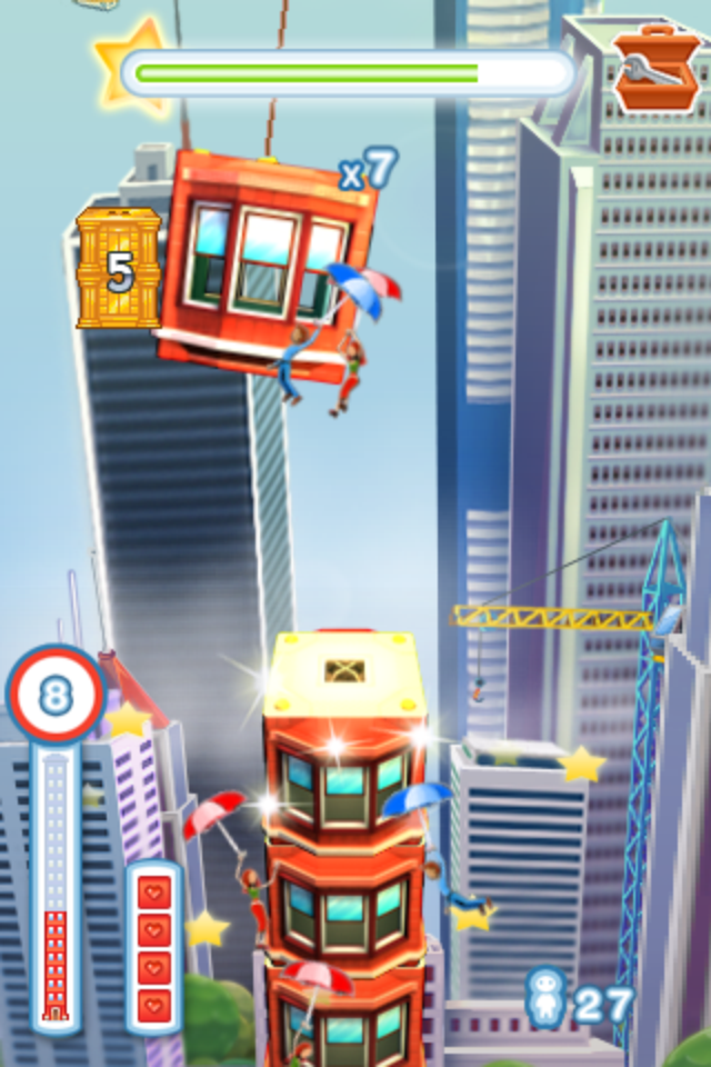 Screenshot Tower Bloxx Deluxe 3D