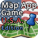 The Map App Game - U.S.A. Edition